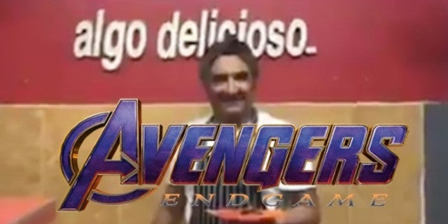 Avengers Endgame Thanos Mexican Restaurant Ad Commercial