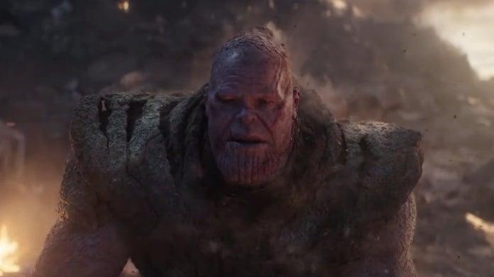Avengers Endgame Thanos snapped