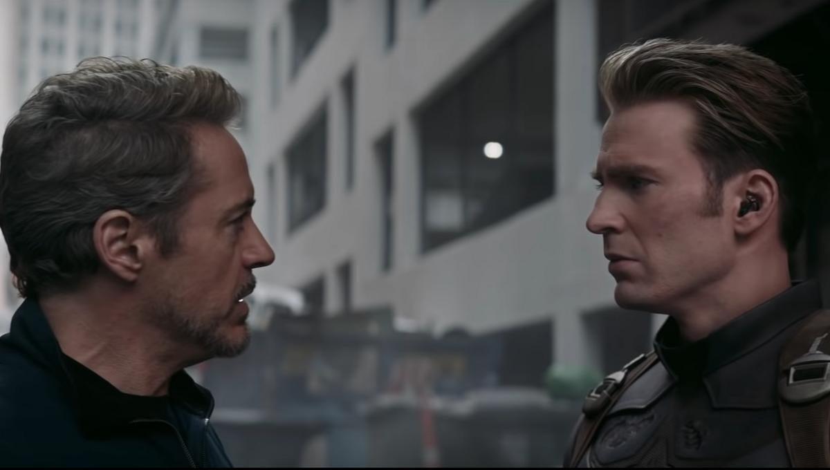 avengers endgame tony captain america