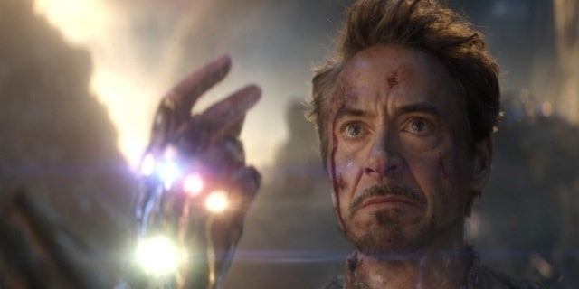 Avengers Endgame Tony Stark I Am Iron Man