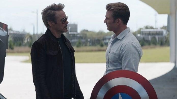 Avengers Endgame Tony Steve