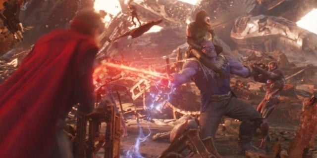 Avengers Infinity War Thanos Titan