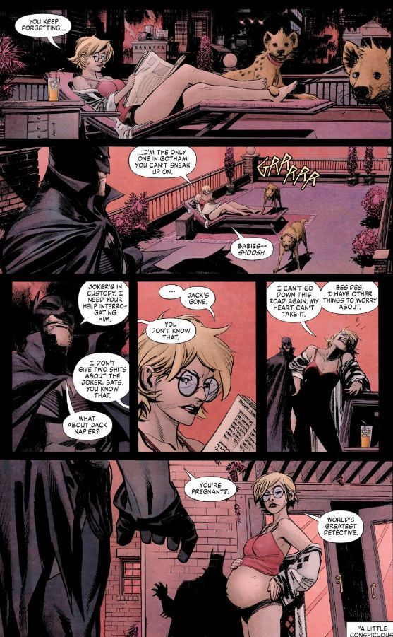 Batman-Curse-of-the-White-Knight-Harley-Quinn-Pregnant