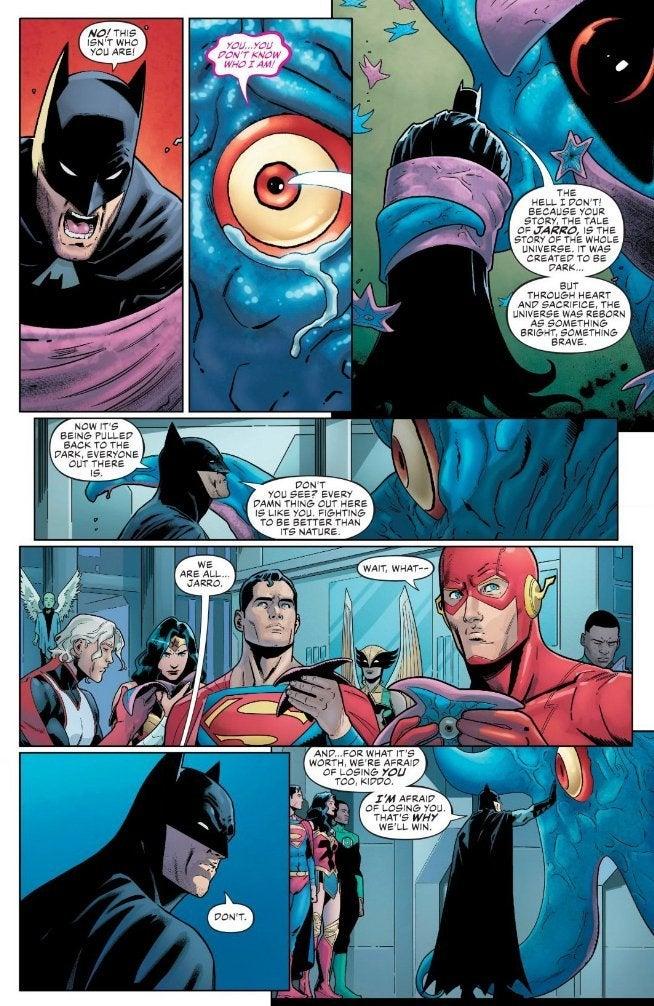 Conversation Between Batman and Jarro