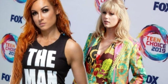 Becky Lynch Responds to Taylor Swift's New Song, 'The Man'