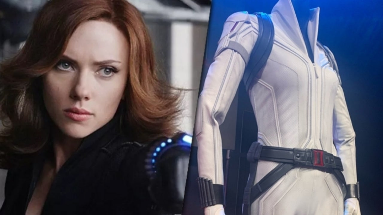Black Widow S White Costume Revealed In New Photos