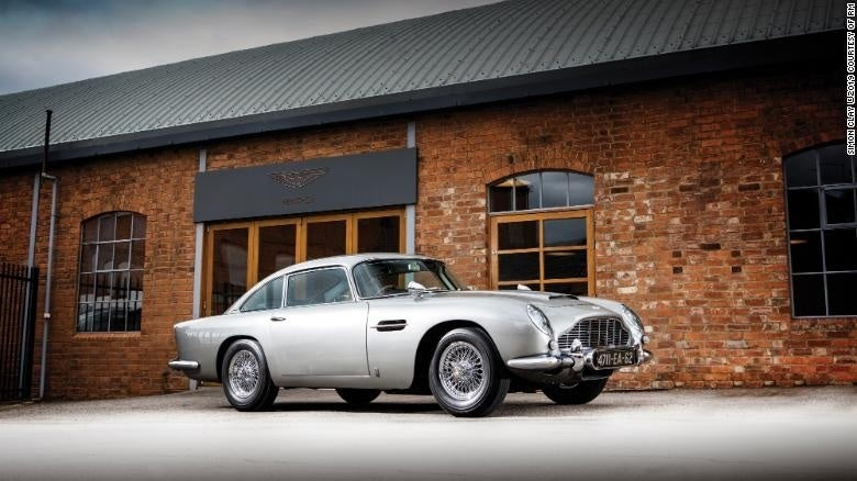 Bond Aston Martin DB5 via CNN
