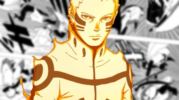 Boruto Manga Chapter 37 Sasuke Saves Naruto Jigen Fight