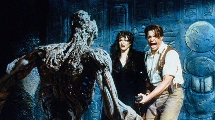 Brendan Fraser Rachel Weisz The Mummy