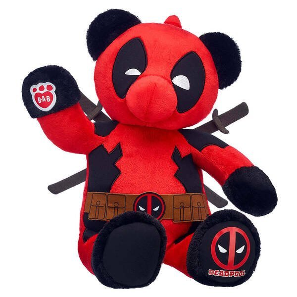 Image result for deadpool bear