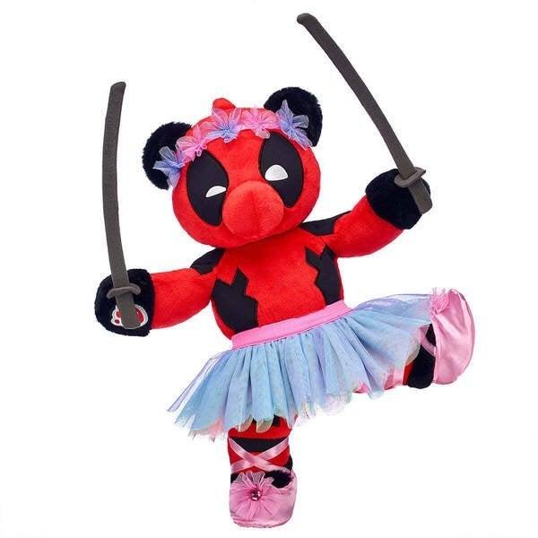 build a bear deadpool ballerina