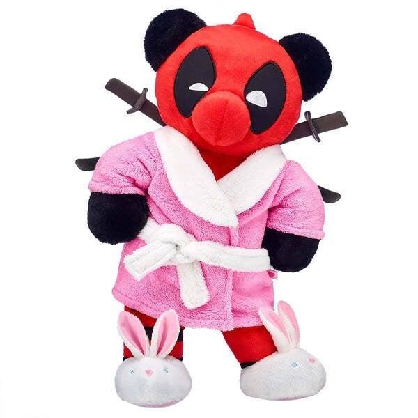 build a bear deadpool robe