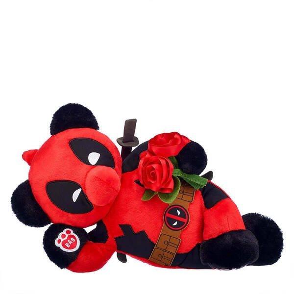 build a bear deadpool roses