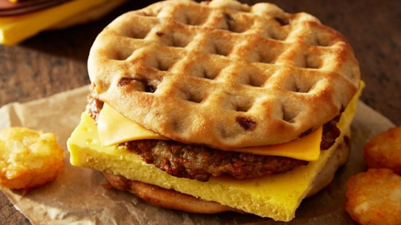 Burger King Introduces Maple Waffle Breakfast Sandwiches