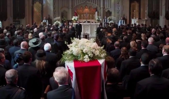Captain America Civil War Peggy funeral old man Cap