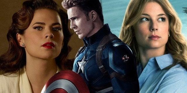 Captain America Y Peggy Endgame