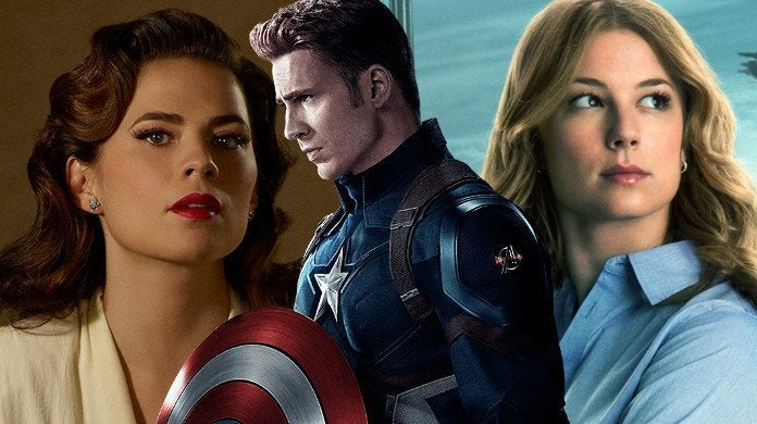 Captain America Peggy Sharon Carter