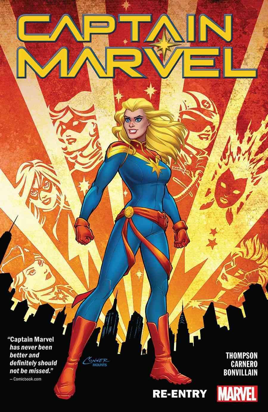 Captain Marvel Re-Entry