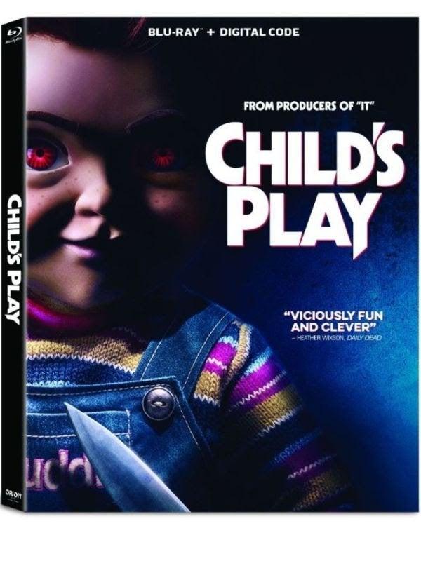child's play reboot remake 2019 blu ray