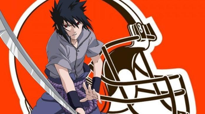 Cleveland Browns Sasuke Naruto