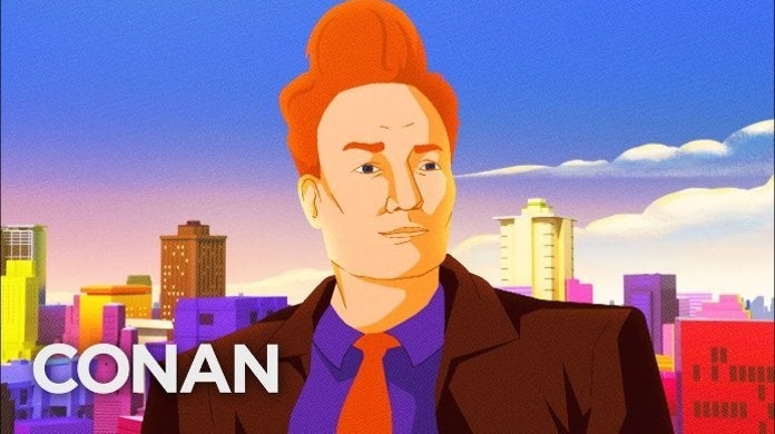 Conan O'Brien Into the Spider-Verse
