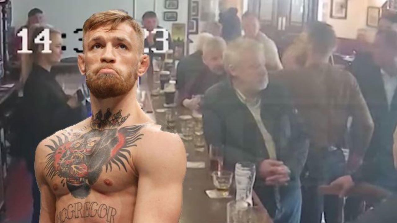 Kết quả hình ảnh cho mcgregor fight an old man