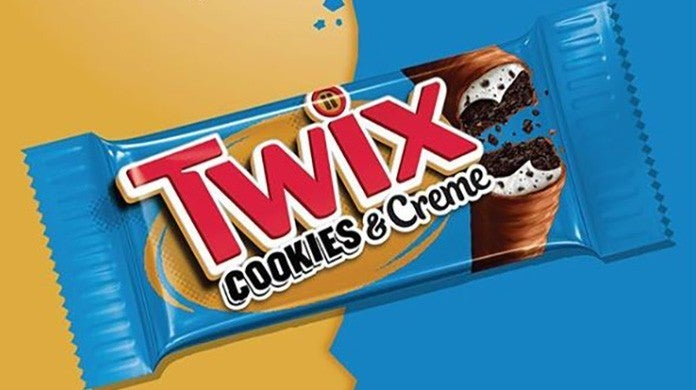 cookies and creme twix