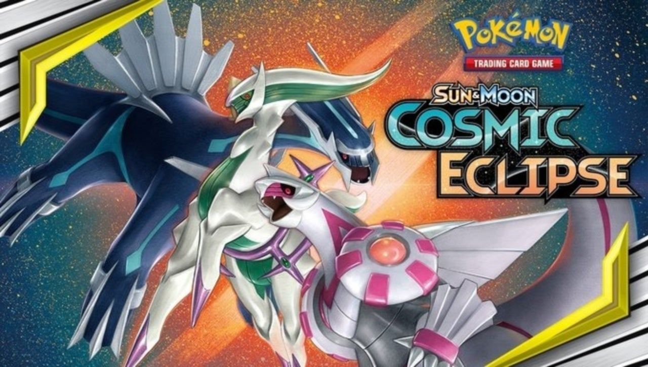 Pokemon TCG Announces Cosmic Eclipse Expansion, With New Shiny Legendary Pokemon Tie-In
