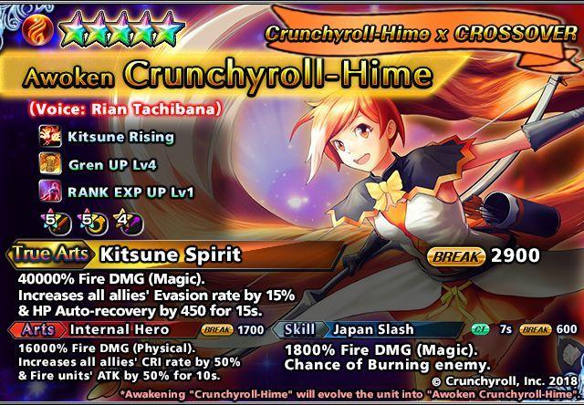 Crunchyroll-Hime Summon