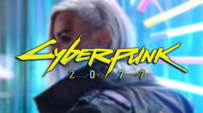 Cyberpunk 2077 V Cosplay Alzbeta Trojanova