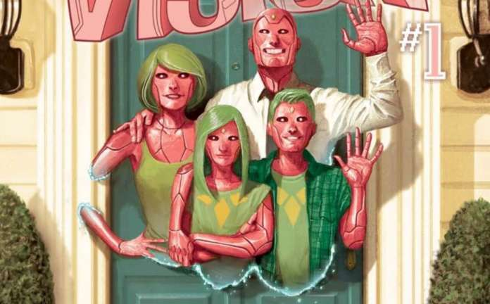 D23 Marvel Comics Speculation - The Vision #1