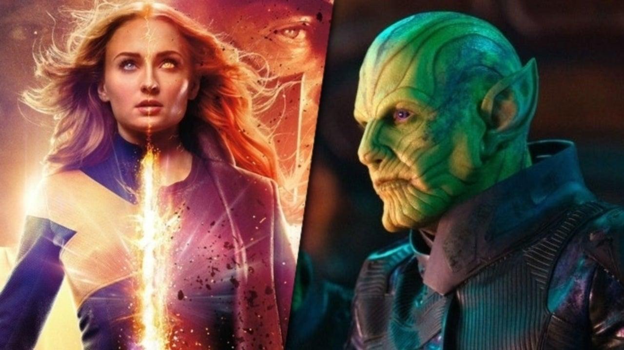 Recently Revealed X Men Dark Phoenix Skrull Designs Look