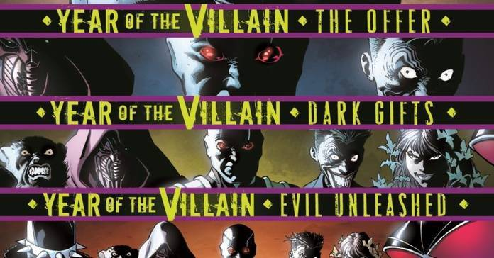 DC Comics DiDio Lee - Year of the Villain