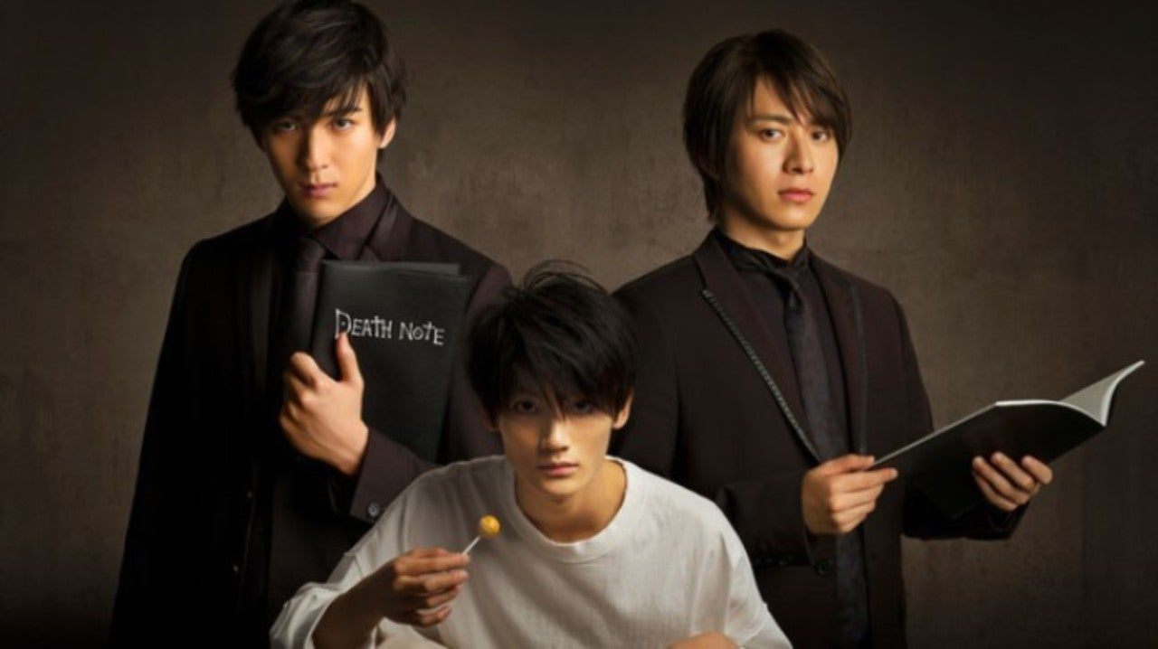 New Death Note Play Debuts First Poster
