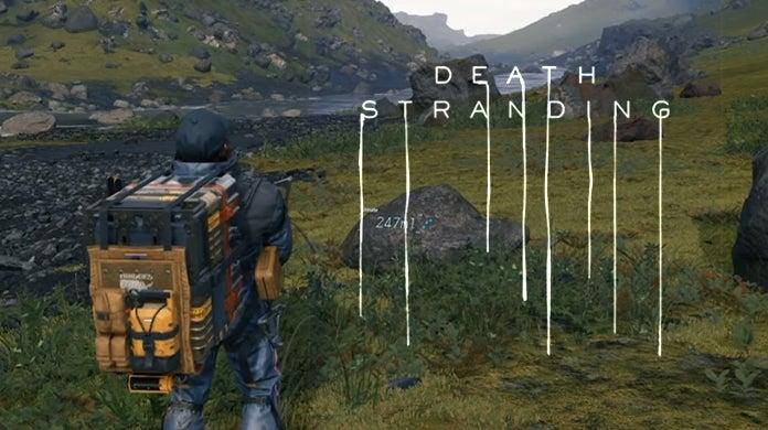 Death Stranding Peeing