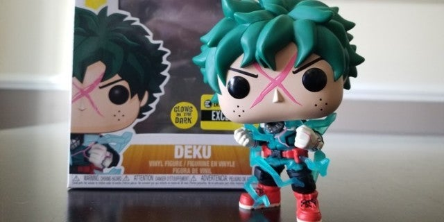 The My Hero Academia Deku Full Cowl Funko Pop Exclusive is Almost Here