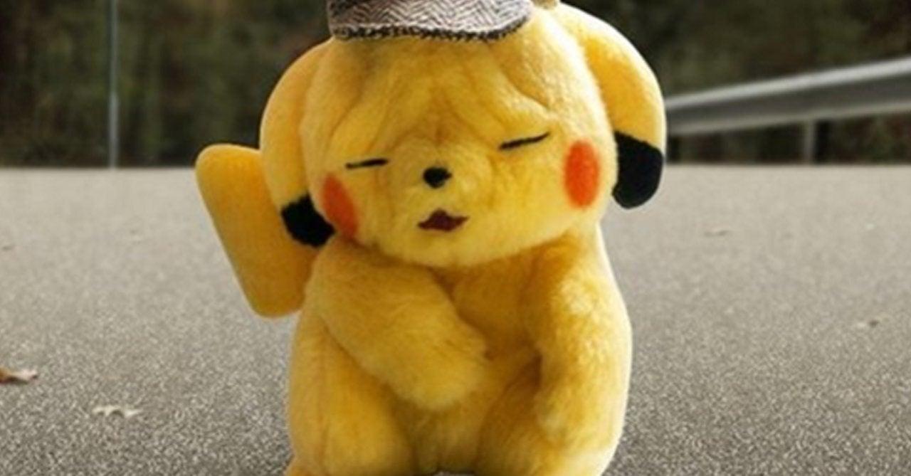 Pokemon To Release Sad Detective Pikachu Plush
