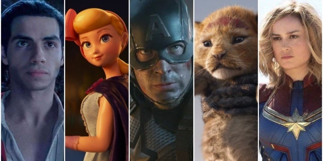 Disney Becomes First Studio With Five Movies Grossing $1 Billion in a Single Year