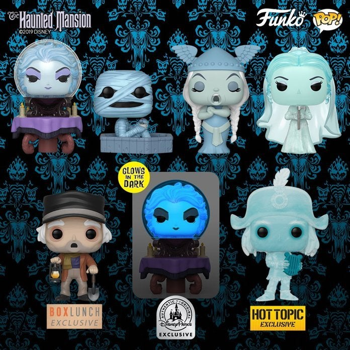 disney-the-haunted-mansion-funko-pops