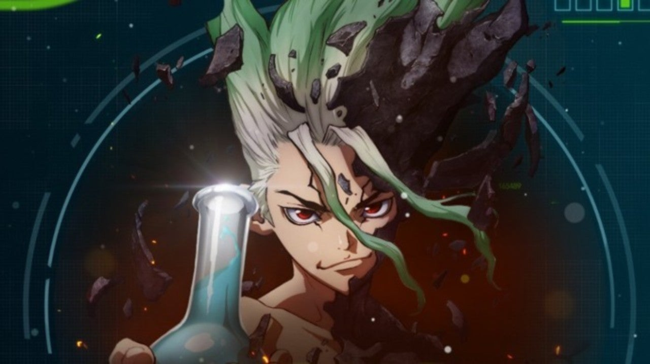 Dr. Stone Debuts First Toonami Promo