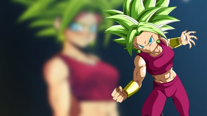Dragon Ball Super Kefla Fan Artwork by Echo Saber Sexy Hot