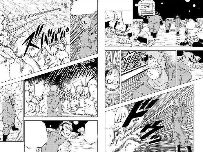 Dragon Ball Super Manga Moro Convicts Gang Android 73