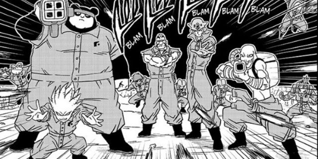 Dragon Ball Super Saganbo Power Levels Origin