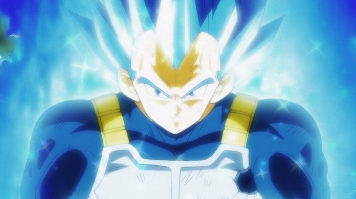 Dragon Ball Super Vegeta Super Saiyan Blue Evolution