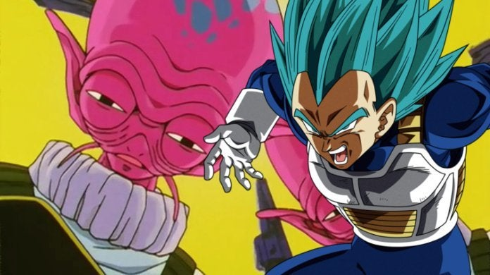 Dragon Ball Super Vegeta Yardrat