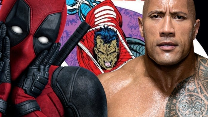 Dwayne Johnson Deadpool Garrison Kane comicbookcom