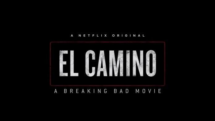 El Camino Breaking Bad Movie logo Netflix