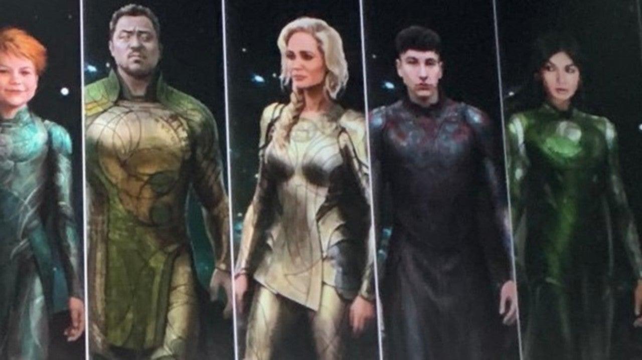Eternals Concept Art Reveals First Look At Costumes
