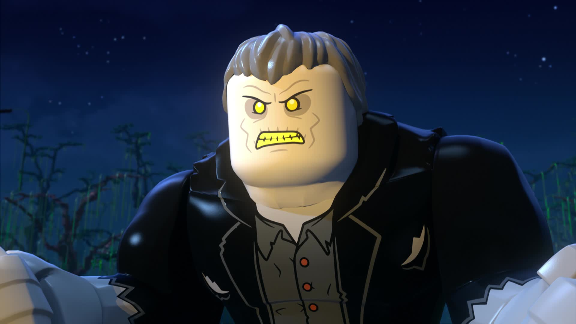 Exclusive Clip: Solomon Grundy Spooks LEGO DC: Batman - Family Matters screen capture