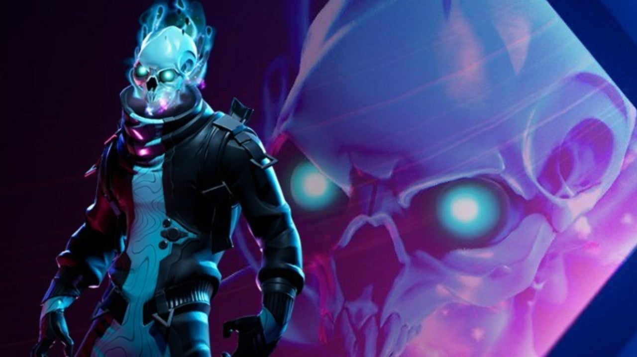 Fortnite Players Can T Unsee New Battle Pass Skin As Ghost Rider